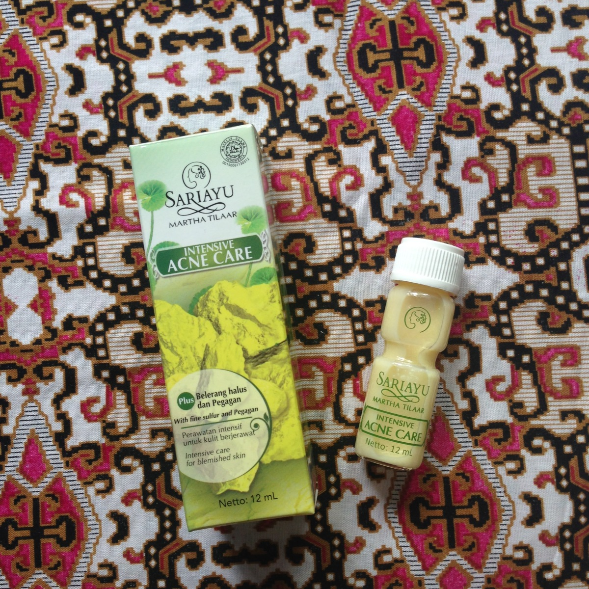 Sariayu Intensive Acne Care (Skin Care Review)